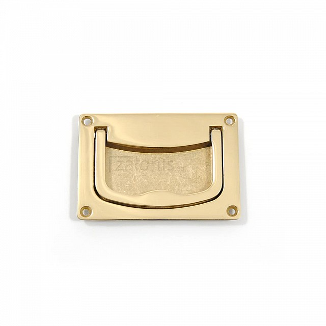 BRASS CHEST HANDLE 60x90  / GOLD PLATED